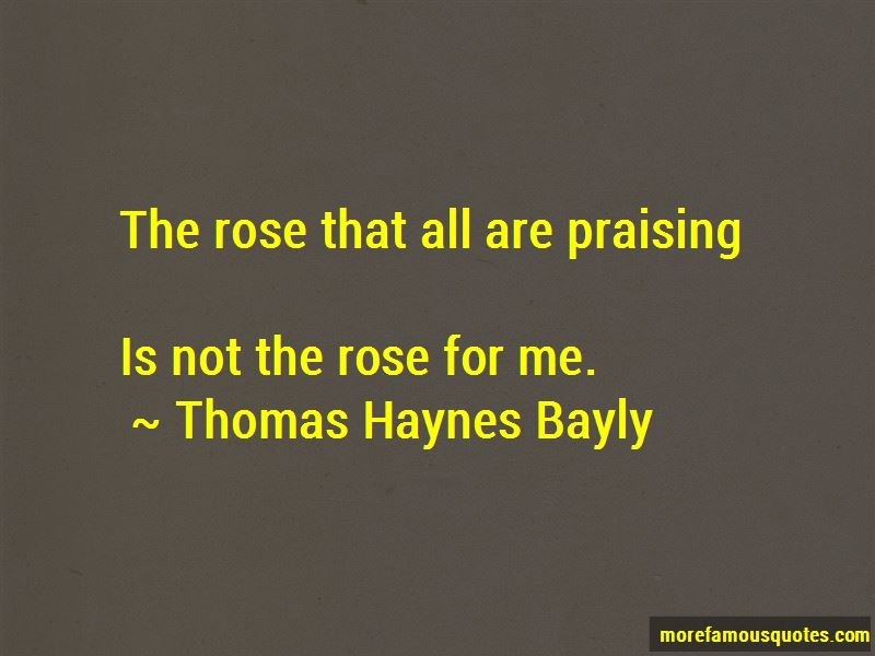 Thomas Haynes Bayly Quotes Pictures 2