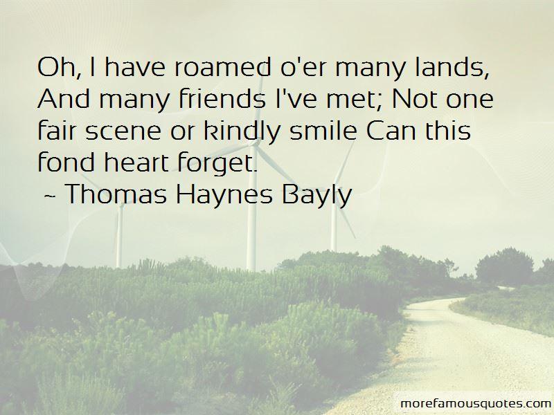 Thomas Haynes Bayly Quotes