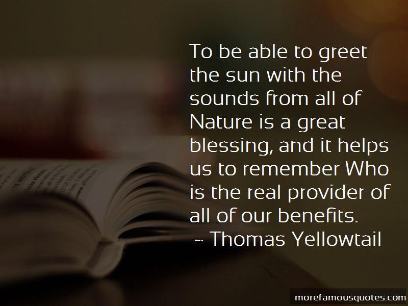 Thomas Yellowtail Quotes Pictures 4