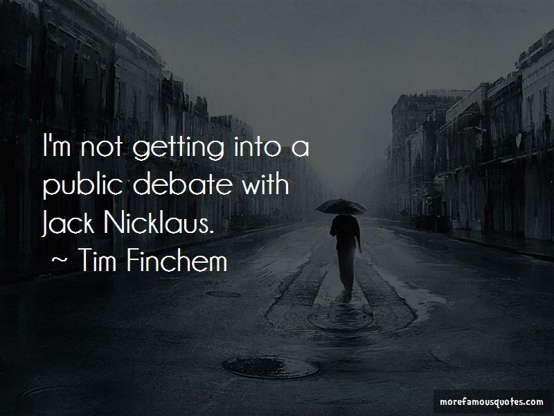 Tim Finchem Quotes Pictures 2