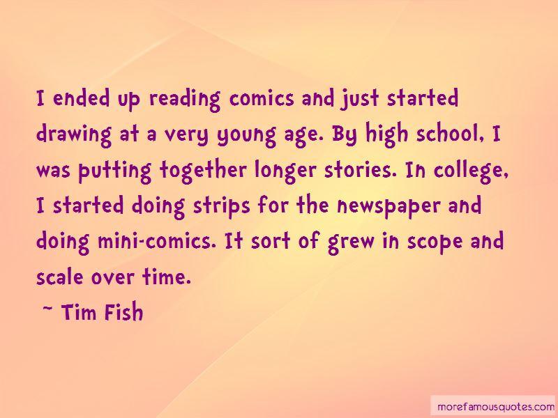 Tim Fish Quotes