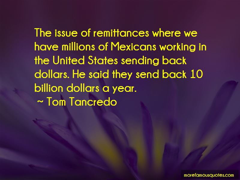 Tom Tancredo Quotes