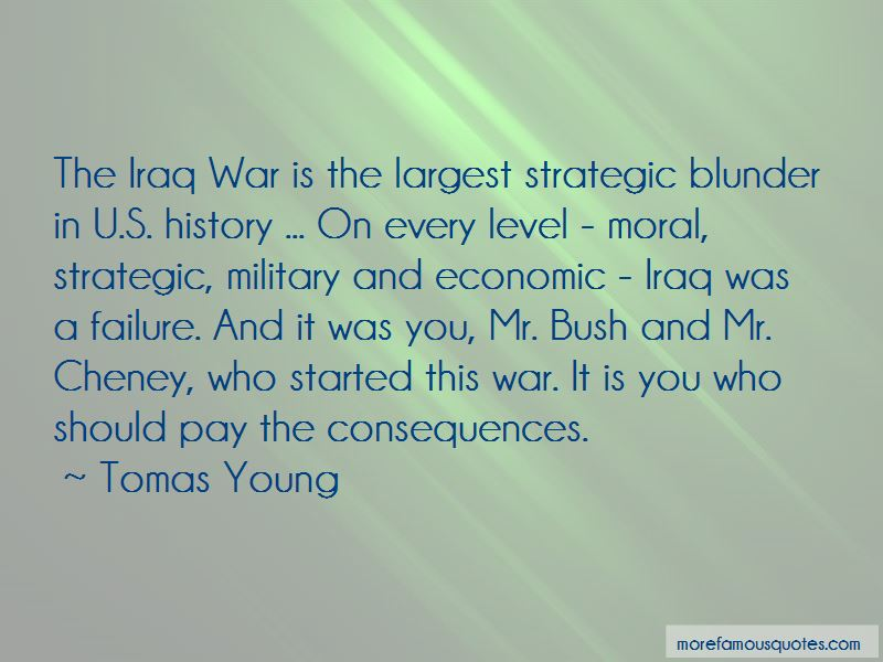 Tomas Young Quotes