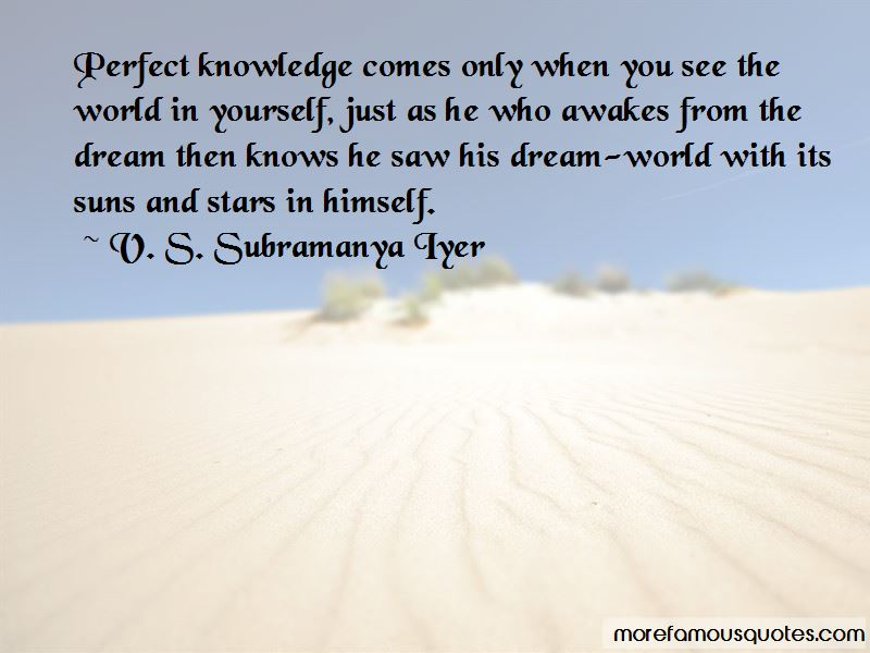 V. S. Subramanya Iyer Quotes