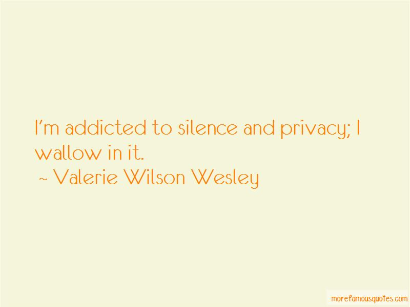 Valerie Wilson Wesley Quotes Pictures 3
