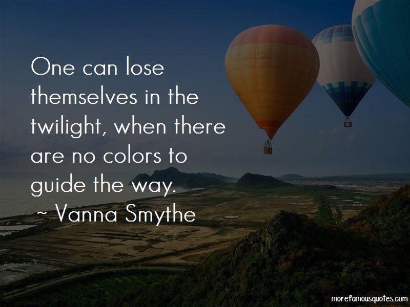 Vanna Smythe Quotes