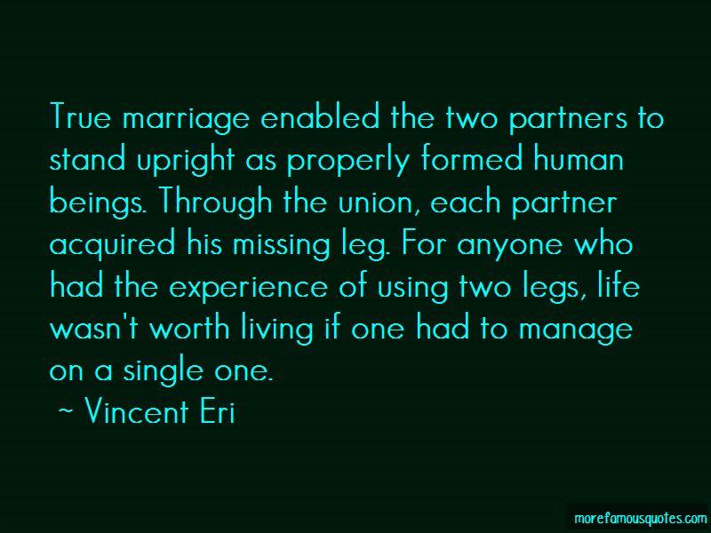Vincent Eri Quotes