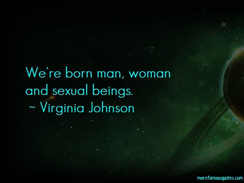 Virginia Johnson Quotes