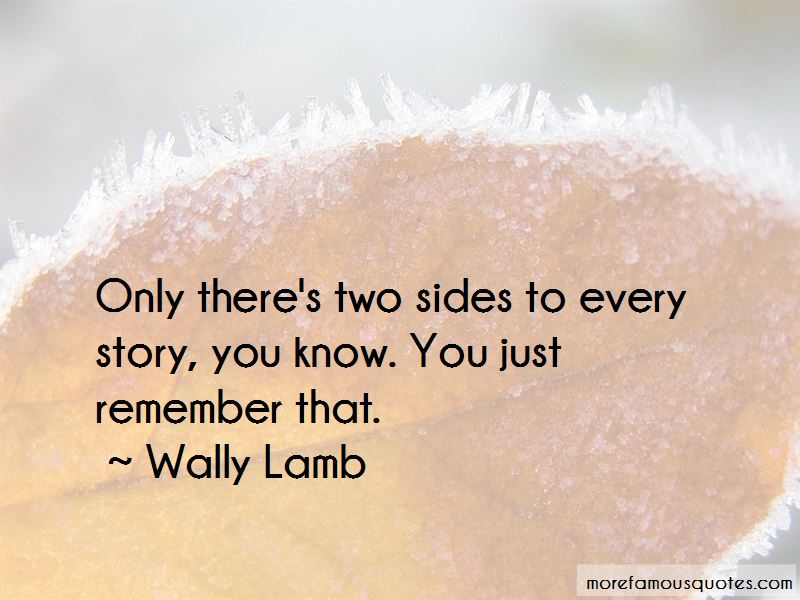 Wally Lamb Quotes Pictures 4