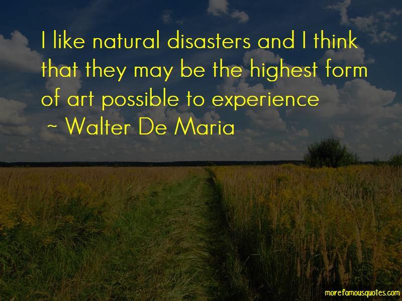 Walter De Maria Quotes Pictures 2