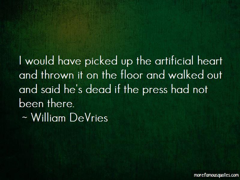 William DeVries Quotes Pictures 2