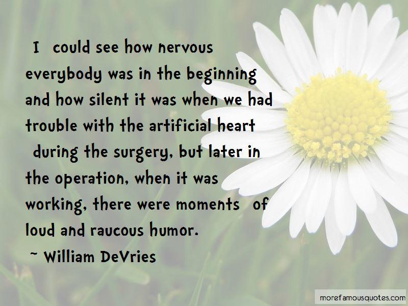 William DeVries Quotes