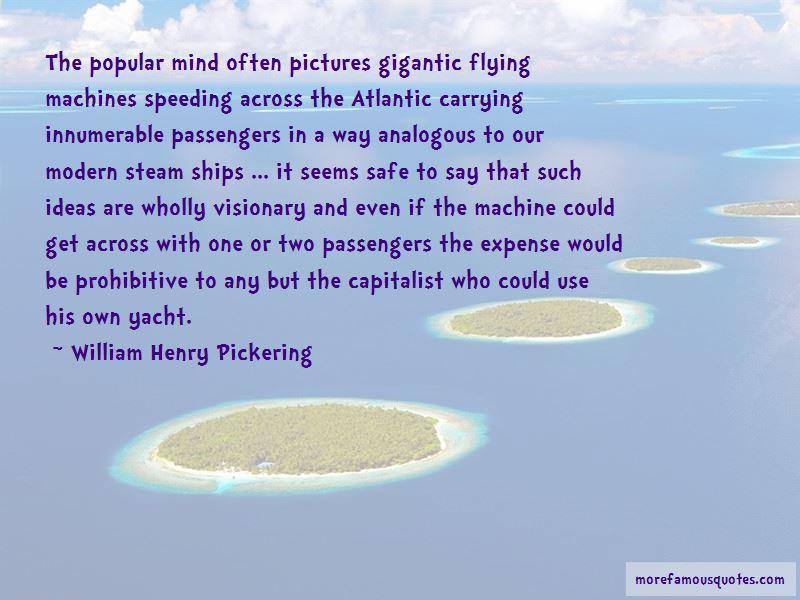 William Henry Pickering Quotes