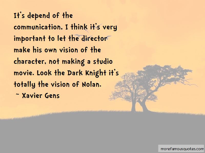 Xavier Gens Quotes Pictures 2
