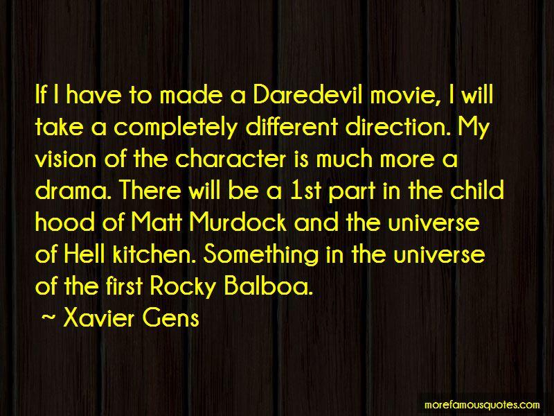 Xavier Gens Quotes