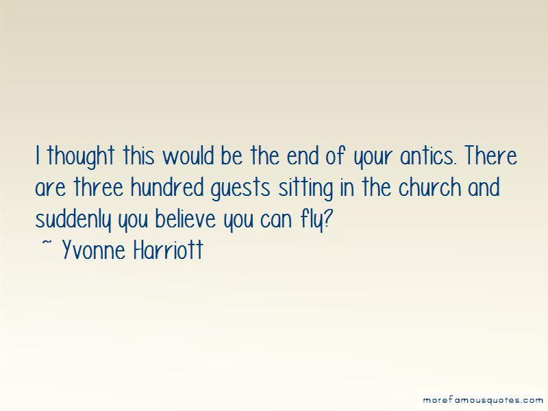 Yvonne Harriott Quotes