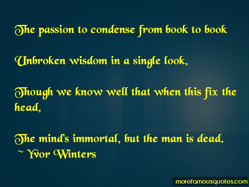 Yvor Winters Quotes Pictures 2