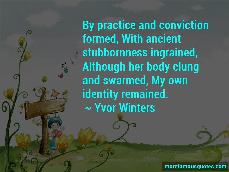 Yvor Winters Quotes