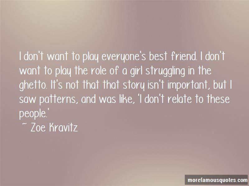 Zoe Kravitz Quotes Pictures 2