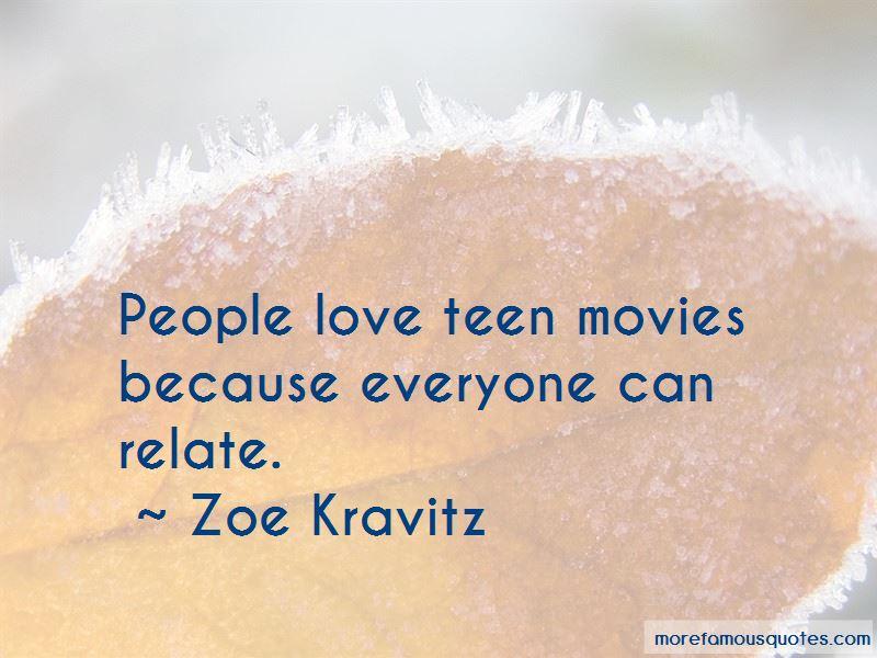 Zoe Kravitz Quotes Pictures 3