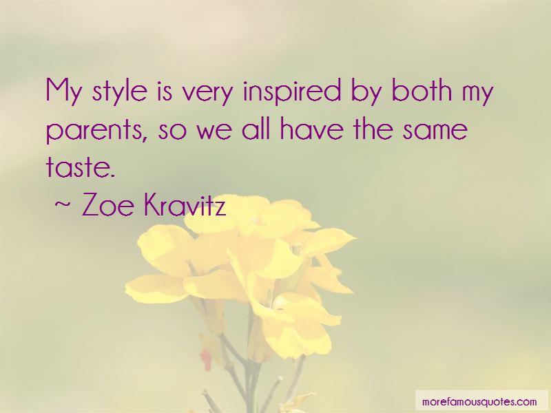 Zoe Kravitz Quotes Pictures 4