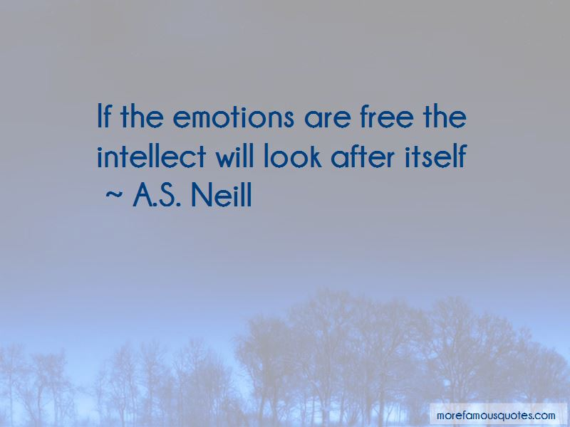 A.S. Neill Quotes