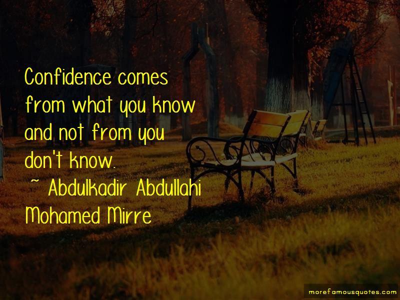Abdulkadir Abdullahi Mohamed Mirre Quotes Pictures 3