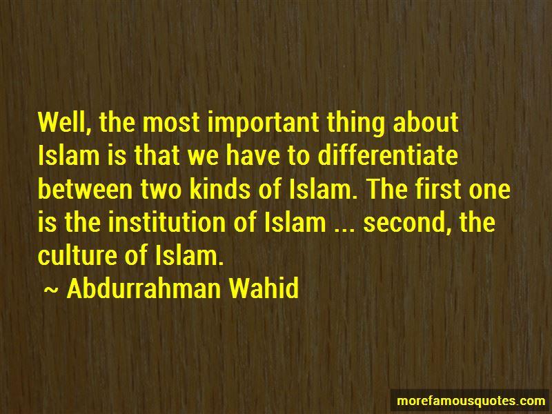 Abdurrahman Wahid Quotes