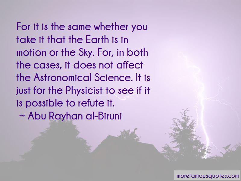 Abu Rayhan Al-Biruni Quotes
