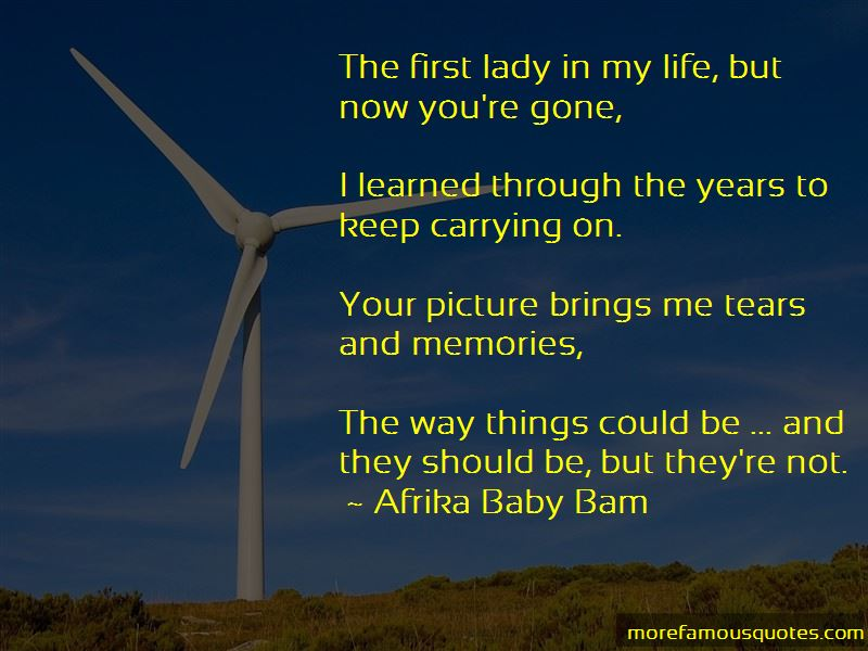Afrika Baby Bam Quotes Pictures 2