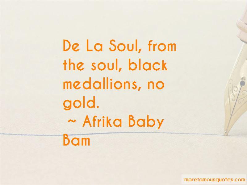 Afrika Baby Bam Quotes