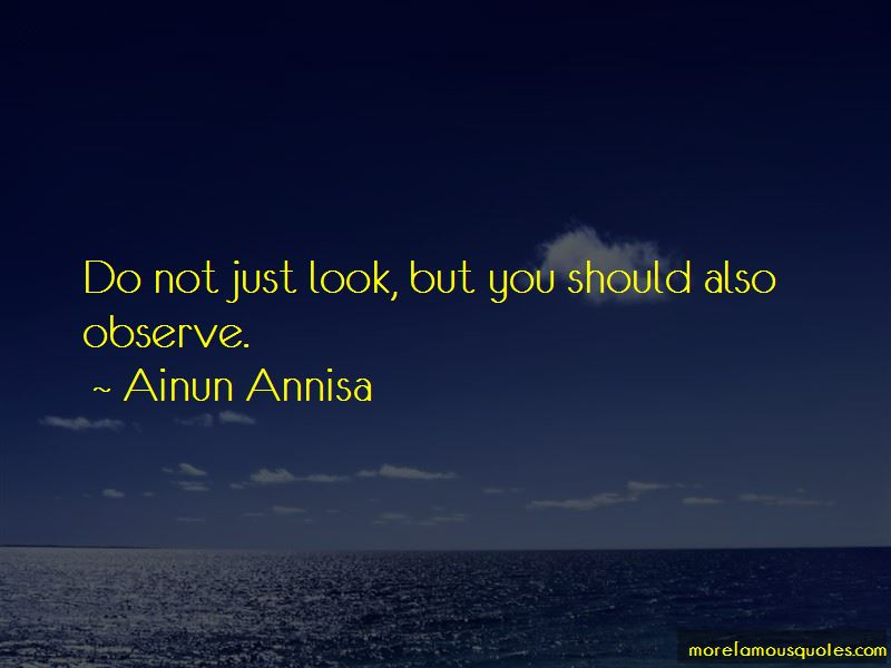 Ainun Annisa Quotes