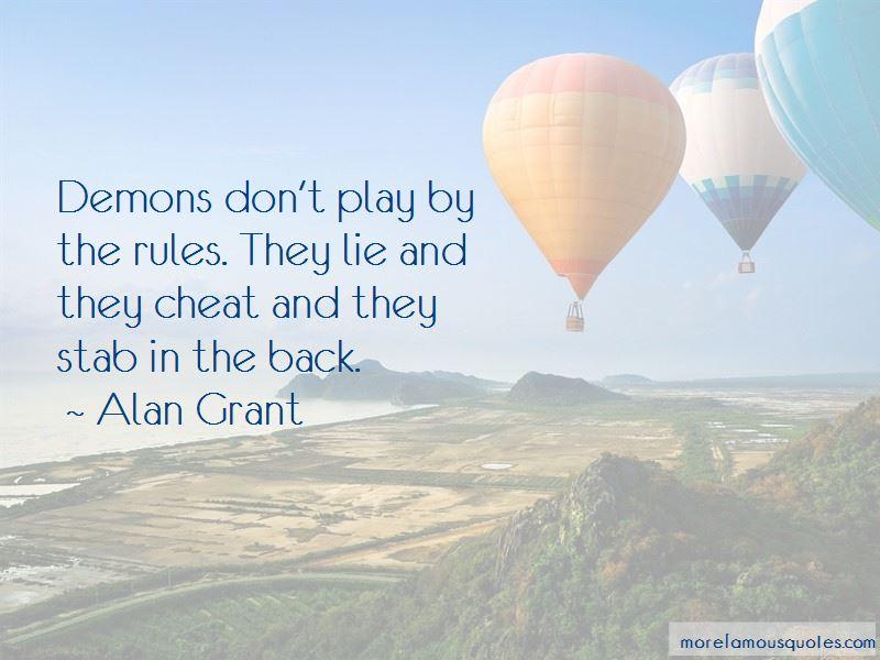 Alan Grant Quotes