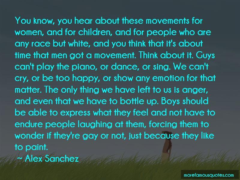 Alex Sanchez Quotes Pictures 3