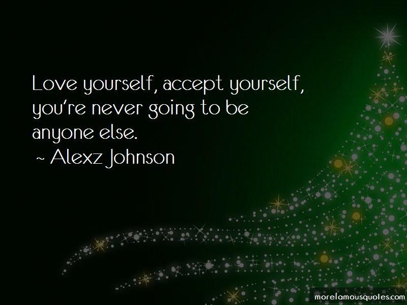 Alexz Johnson Quotes Pictures 2