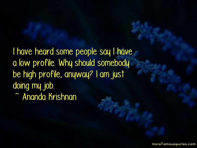 Ananda Krishnan Quotes Pictures 2