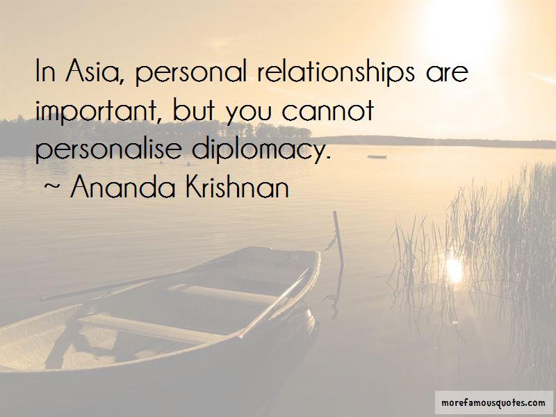 Ananda Krishnan Quotes