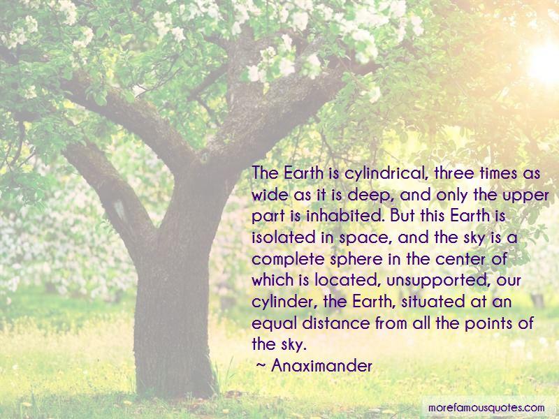 Anaximander Quotes