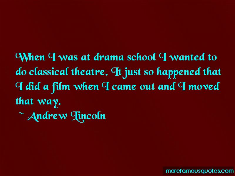 Andrew Lincoln Quotes Pictures 2
