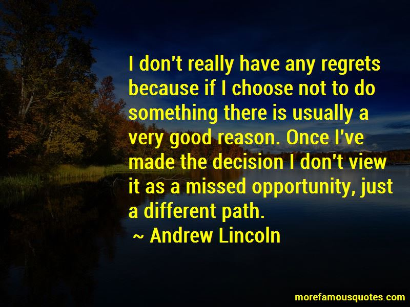Andrew Lincoln Quotes