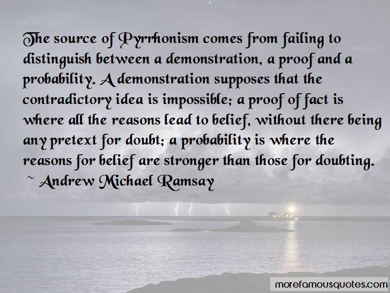 Andrew Michael Ramsay Quotes