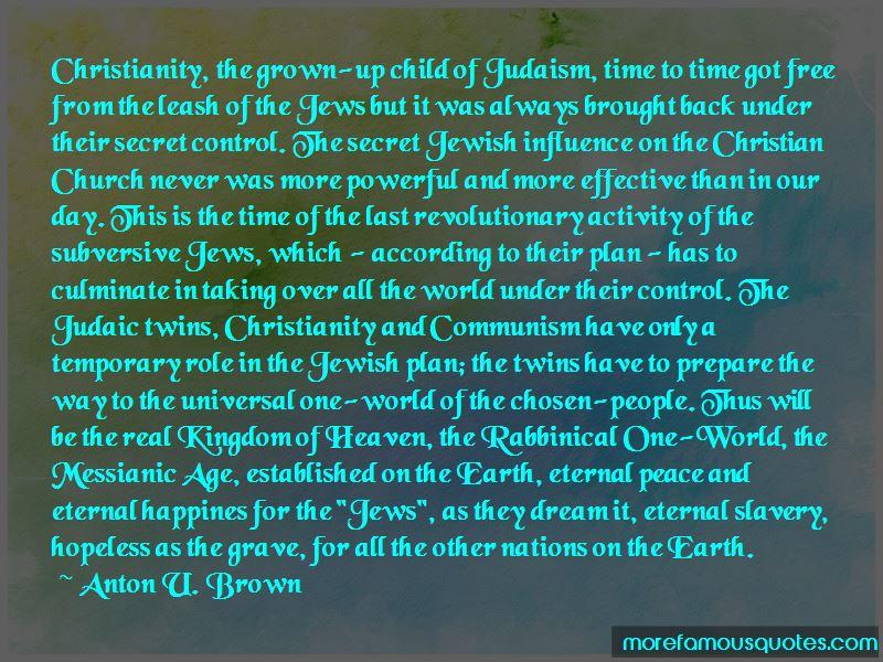Anton U. Brown Quotes