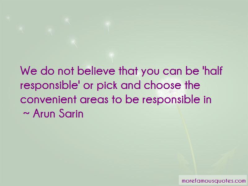 Arun Sarin Quotes