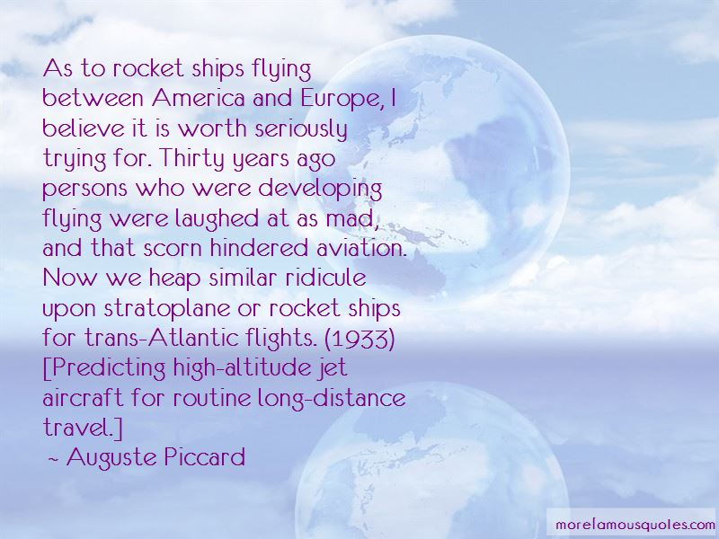 Auguste Piccard Quotes Pictures 3