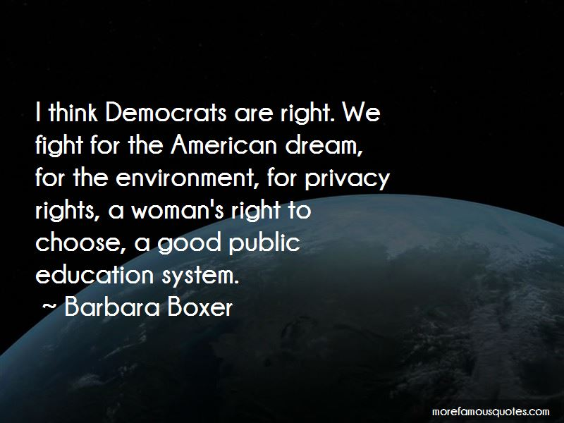 Barbara Boxer Quotes Pictures 2