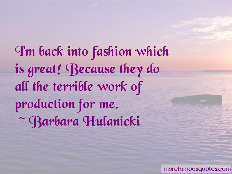 Barbara Hulanicki Quotes Pictures 2