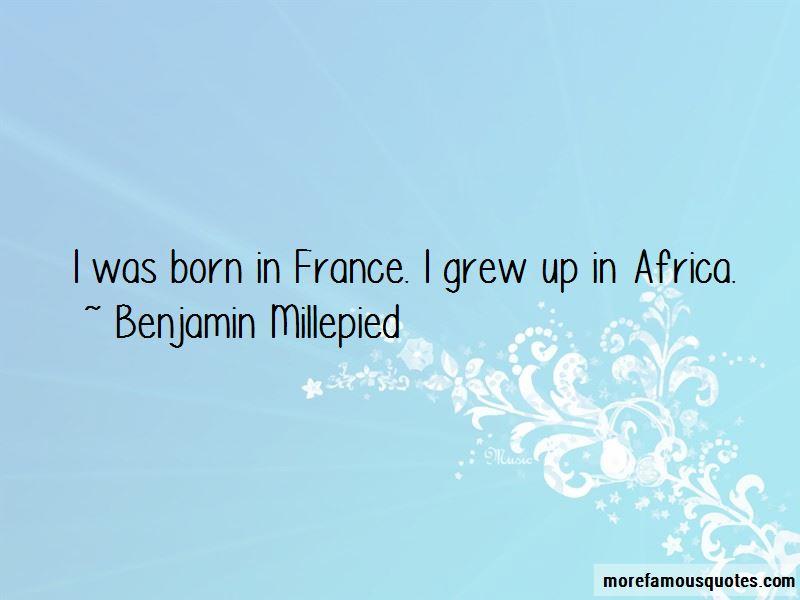 Benjamin Millepied Quotes