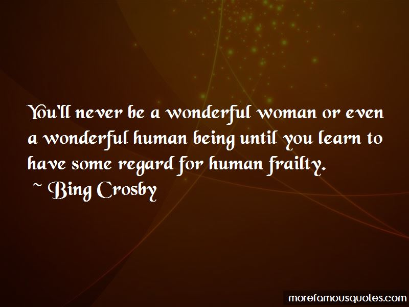 Bing Crosby Quotes