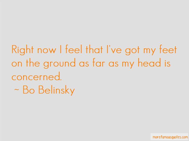 Bo Belinsky Quotes