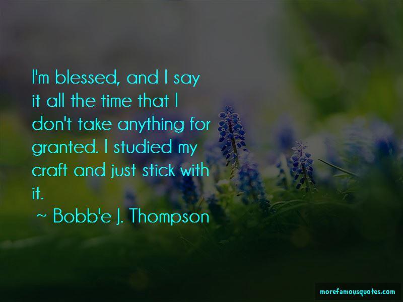 Bobb'e J. Thompson Quotes Pictures 4
